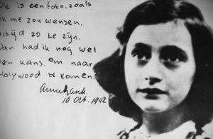 Анна Франк погибла вчера