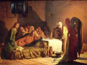 Николай Ге и его картина «Тайная вечеря»